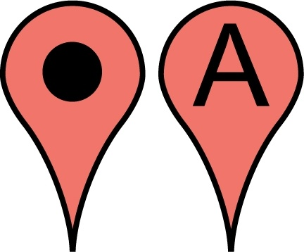 Free Google Maps Pointer Icon Free vector in Adobe ... on google maps print free, 3d street maps free, street map template free, map clip art free, animation download free, google earth 2012, android download free,