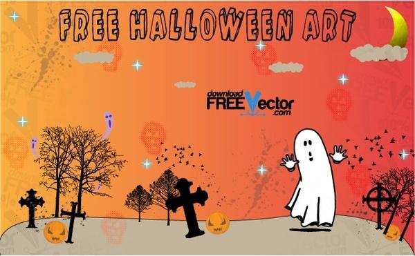 Free Halloween Art