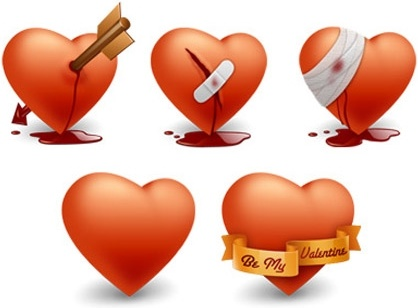 Free Happy Valentines Day Icons icons pack
