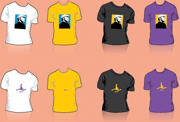 Free Kobe Bryant T-shirt Design