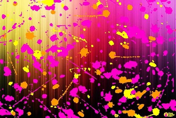 Free paint splash vector graphics Free vector in Adobe Illustrator