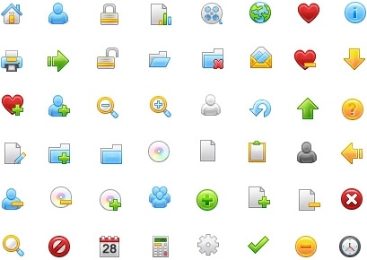Free Stock Icon Part 1 icons pack