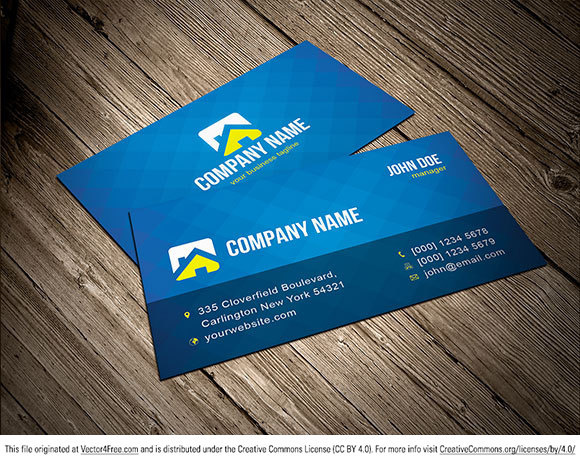 Free vector business card template free vector in adobe illustrator free vector business card template free vector 130mb fbccfo Images