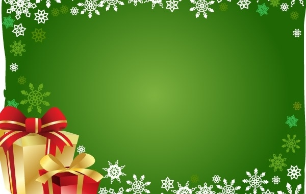 free vector christmas gift and background free vector 58619kb