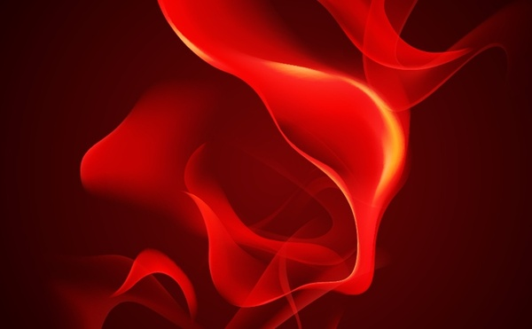 red flame background closeup swirling design