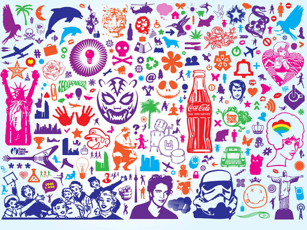 free vector icons collections