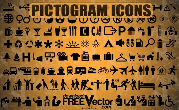 Free Vector Pictogram Icons