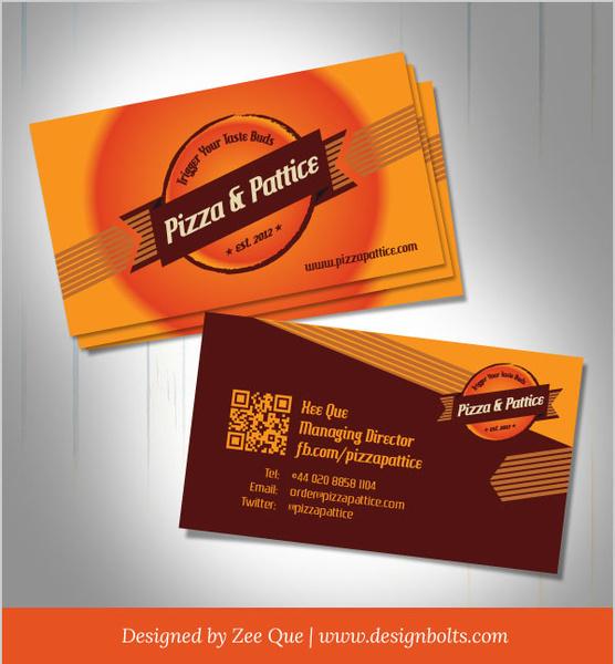 Free vector pizza pattice business card design template free vector free vector pizza pattice business card design template free vector 171mb reheart Gallery