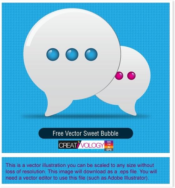 speech bubbles icons shiny white flat design