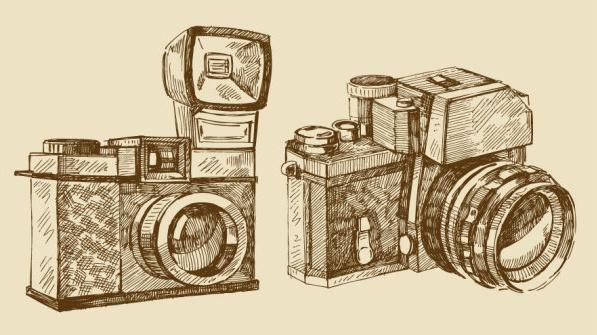 free vector vintage camera