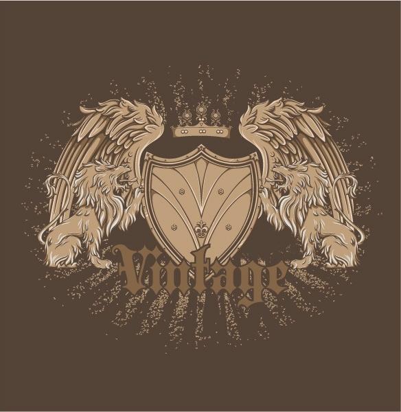 Free vector vintage emblem