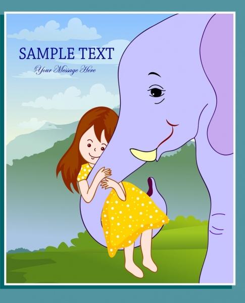 Sexy Elephant Cartoon Elephant vector image ...