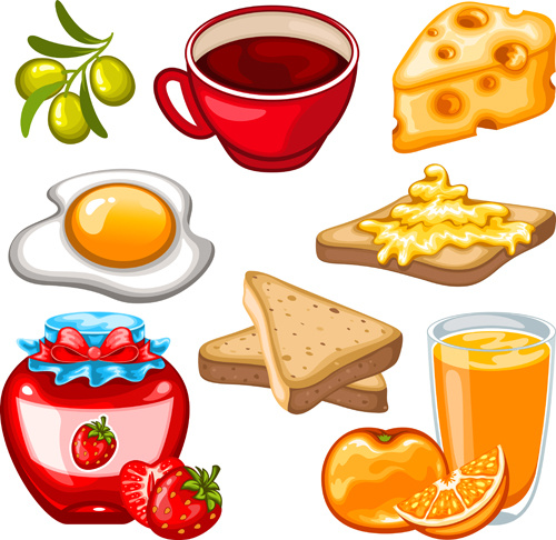 graphic vector drinks drink clipart fruit cartoon breakfast clip healthy ai snacks graphics icons vegetable illustrator eps format svg breakfasts
