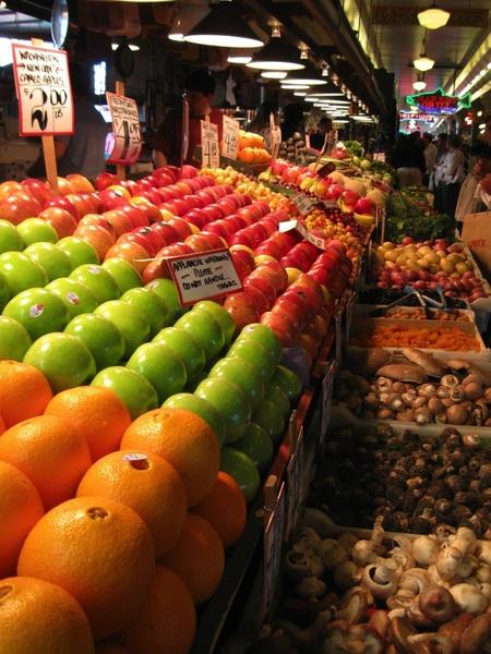 fruit market fruits