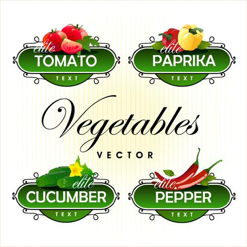 Vegetable Label Free Vector Download (9,593 Free Vector