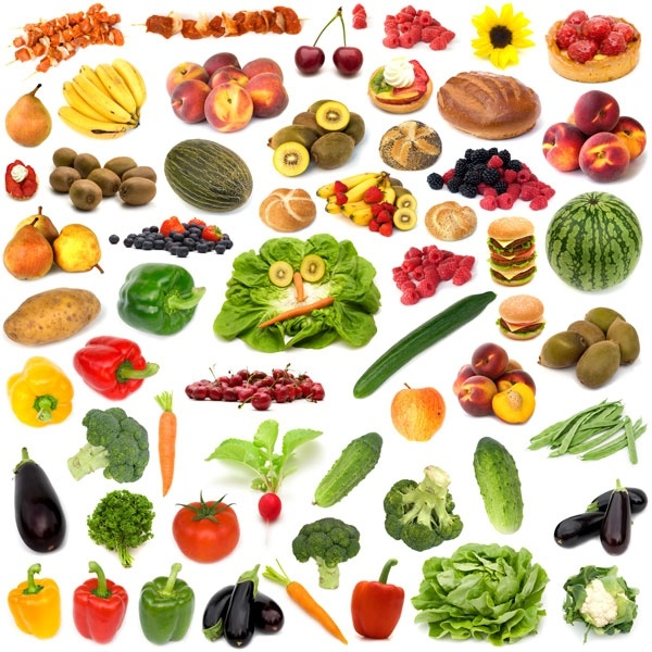 fruits and vegetables highdefinition picture