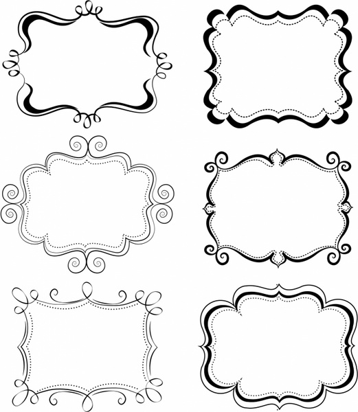 Funky Frames Free vector in Adobe Illustrator ai ( .AI ...
