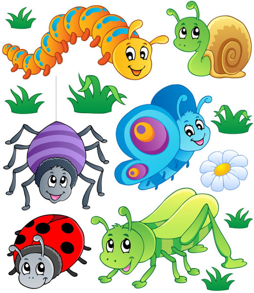 Funny Cartoon Insects Stock Illustrations – 1,984 Funny ...