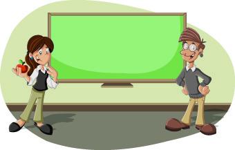 funny cartoon people illustration