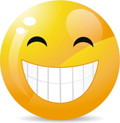 funny smile emoticons vector icon