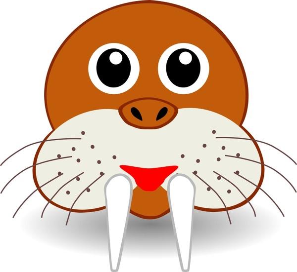funny walrus face
