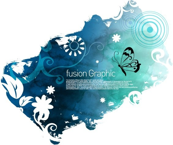 fusion graphic series fashion pattern 10