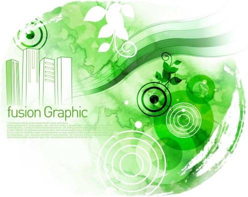 fusion graphic series fashion pattern 12