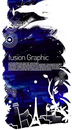 fusion graphic series fashion pattern 1
