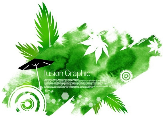 fusion graphic series fashion pattern 23