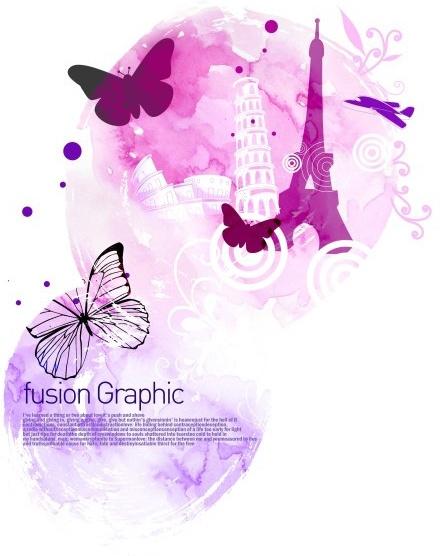 fusion graphic series fashion pattern 25