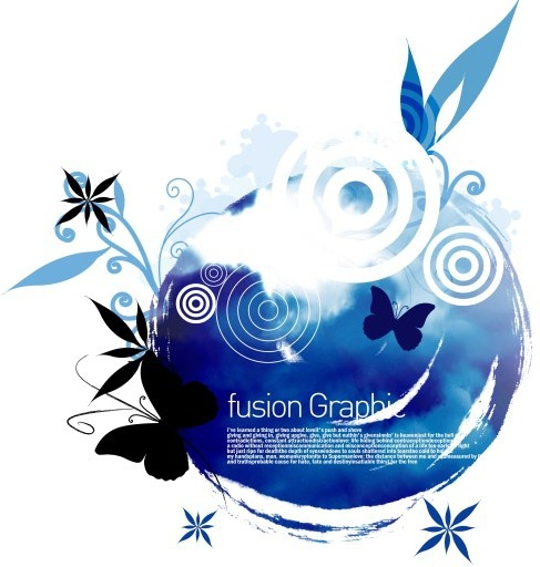 fusion graphic series fashion pattern 2