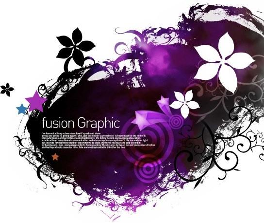 fusion graphic series fashion pattern 3