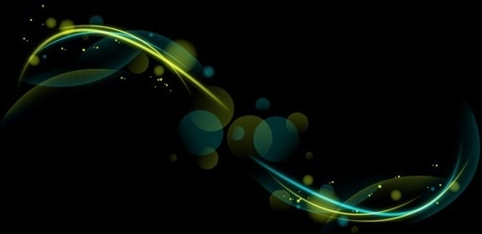 Futuristic Abstract Glowing Vector Background