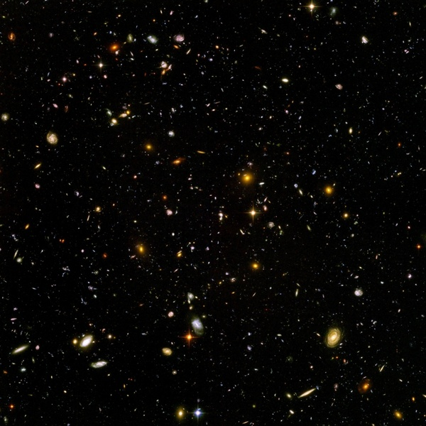 galaxies universe space