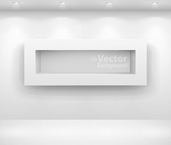 gallery display background 14 vector