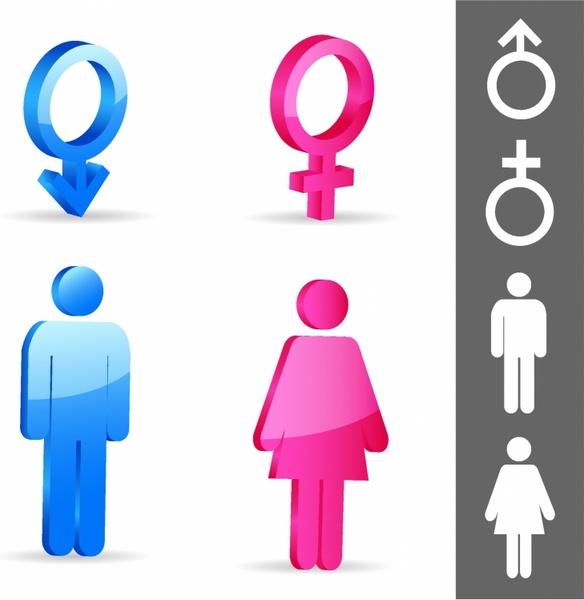Gender Symbols Free Vector In Adobe Illustrator Ai