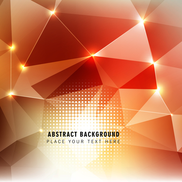 geometric and light background