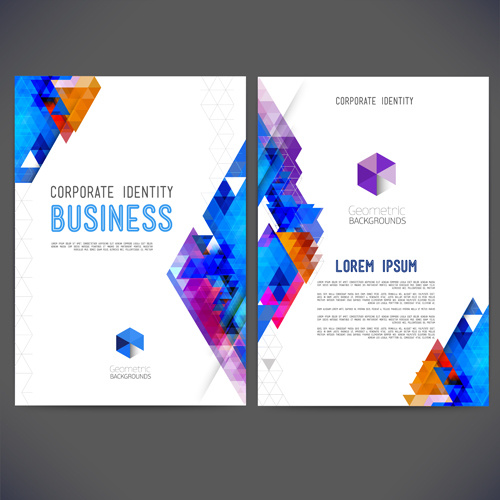 Business Cover Page Template Free Vector Download (26,615