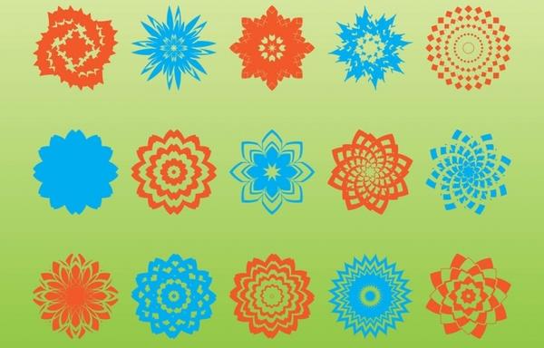 Geometric Shapes Vectors