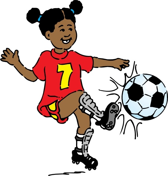 girl playing soccer clip art free vector in open office drawing svg rh all free download com free soccer girl clipart soccer girl clipart