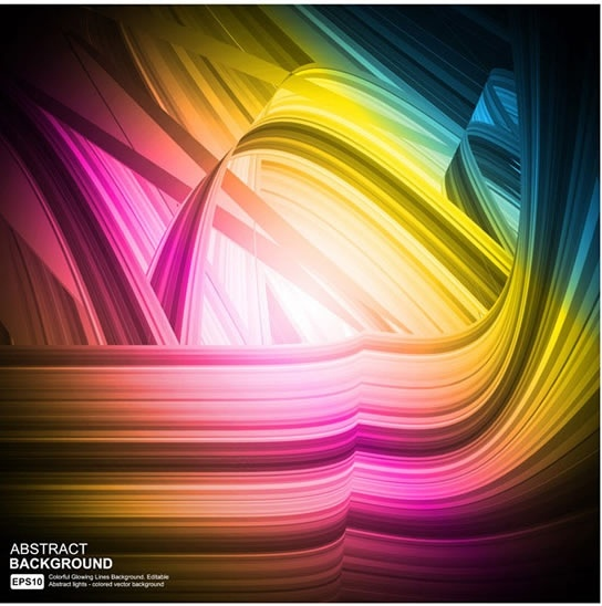 abstract background colorful modern dynamic shining decor