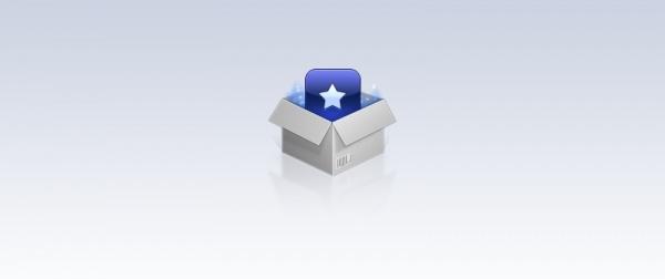 Glowing Box Icon