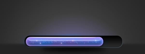 Glowing Loading Bar