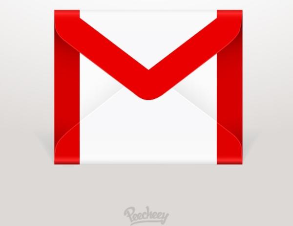 gmail icon free vector in adobe illustrator ai ( .ai ) vector