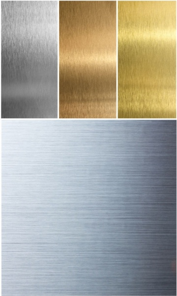 gold silver brushed metal texture background of highdefinition picture