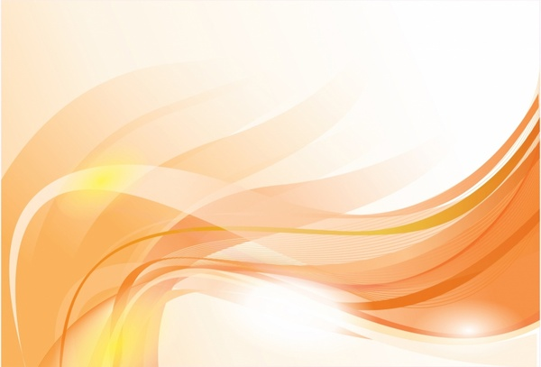 Gold wavy composition