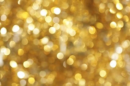 golden fantasy background stock photo