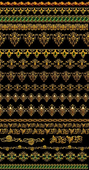 golden gorgeous lace psd layered 2