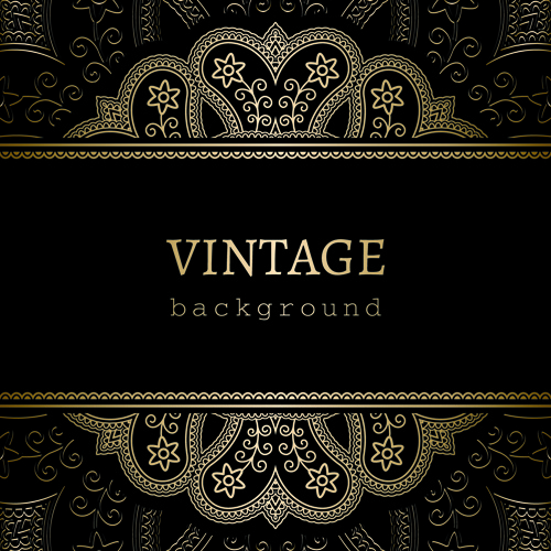 golden black vintage background free vector download (51,588 free