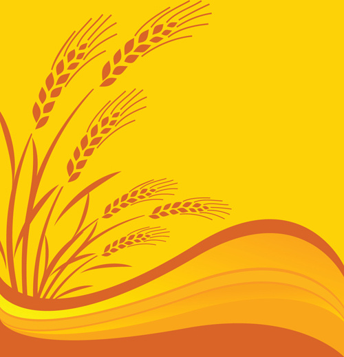 Wheat free vector download (324 Free vector) for ... Rice Plant Logo Vector